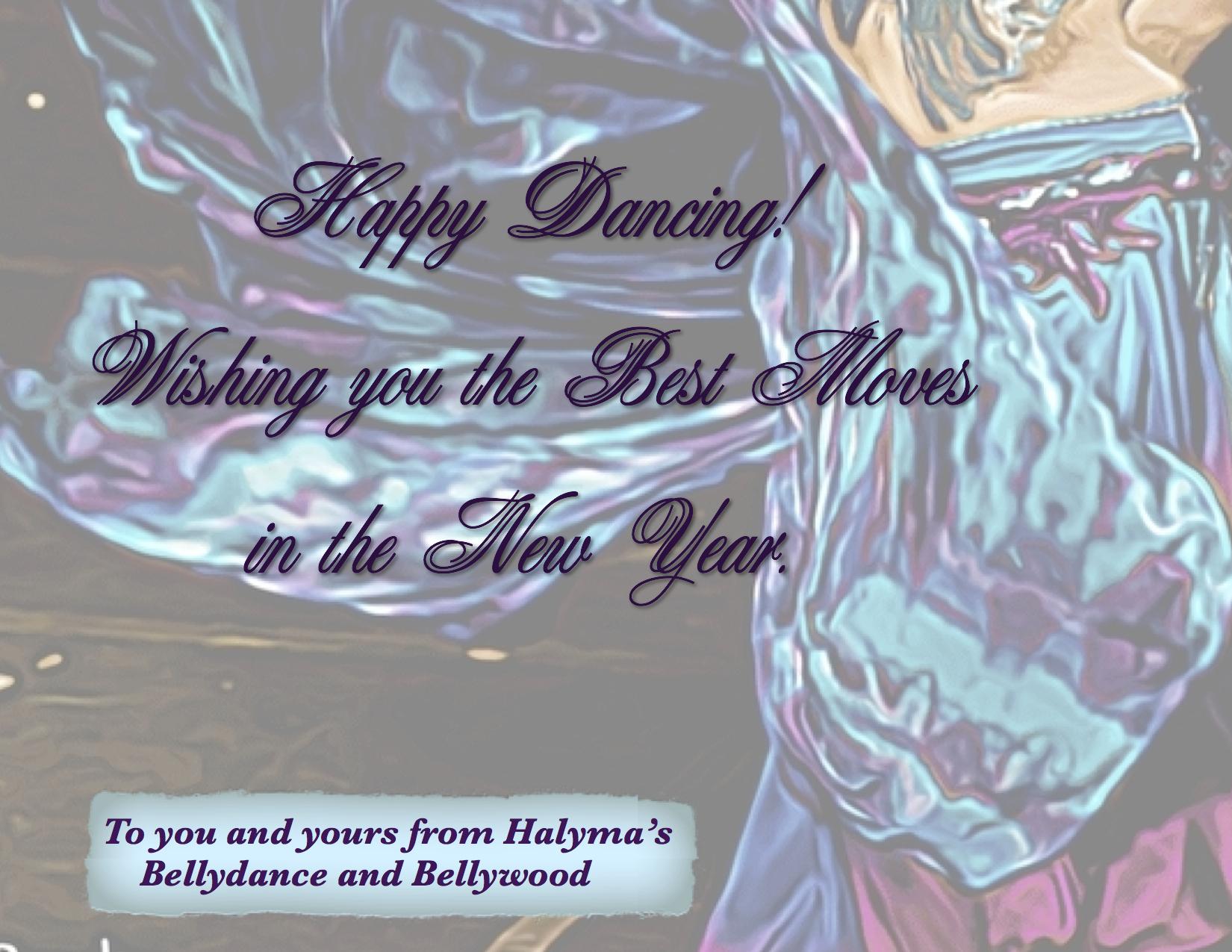 Halyma's Yule greeting 2013