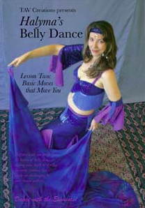 Halyma's Belly Dance DVD 2 cover