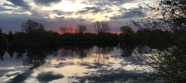 Sunrise May 7, 2021 by Tracey Vibert